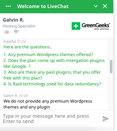 GreenGeeks_Customer_Support