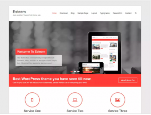 best wordpress theme Esteem