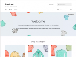 best wordpress theme StoreFront